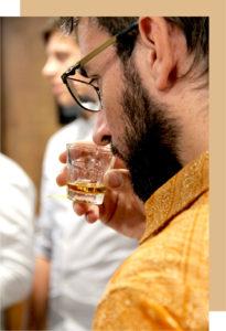 dégustation à l'aveugle rhum sans alcool FIN PALLET