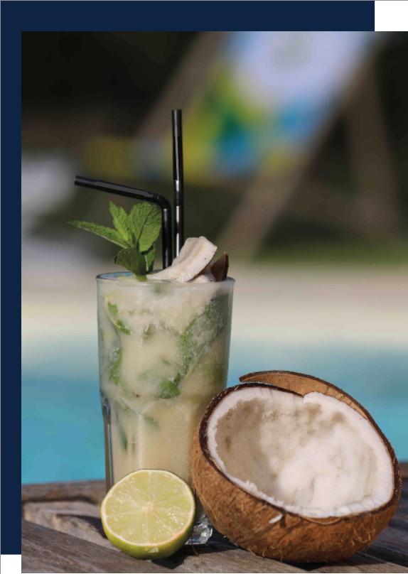 Tutoriel Mojito noix de coco lyon cocktail exotique bar à cocktail fin pallet