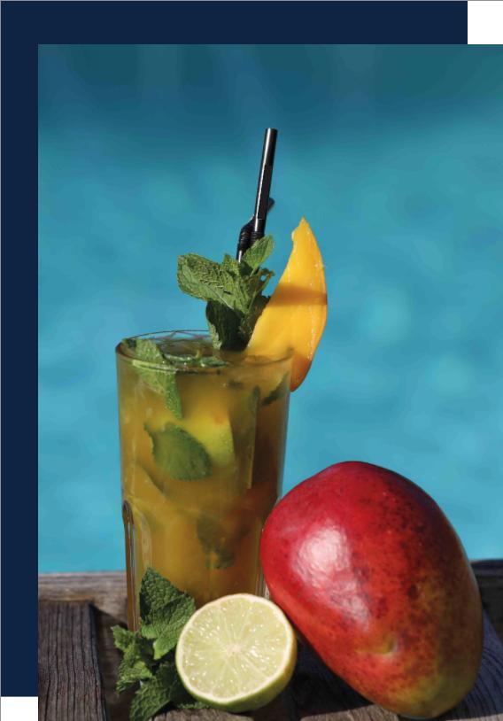 Tutoriel Mojito Mangue Citron vert Lyon bar à cocktail mixologie