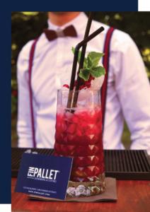 virgin mojito fruits rouges cocktail bar à cocktail lyon Fin pallet rhum sans alcool luxe