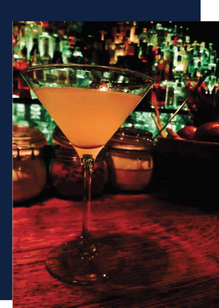 bar à cocktail lyon, Pina Colada ananas noix de coco cocktail sans alcool