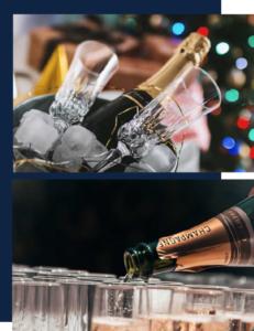 Bar à champagne, soirée entreprise lyon bar événementiel