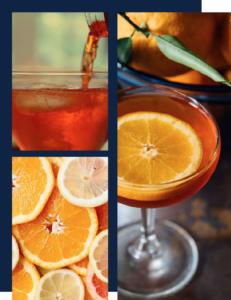 Spritz et Aperol Spritz orange pour événement professionnel, mariage, soirée privée lyon