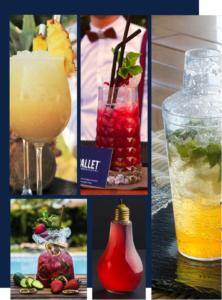 Cocktail d'accueil pour soirée entreprise lyon