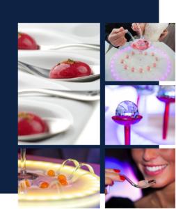 Cocktail avec glace carbonique (carboglace), animation spectacle cocktail
