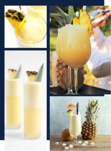 Fin pallet bar à cocktail innovants, cocktail exotiques