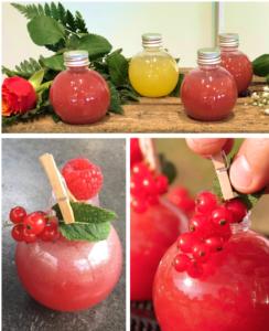 Livraison cocktail innovant aux fruits