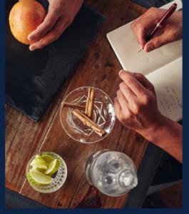 animation cocktail personnalisé, cocktail sur-mesure fin Pallet