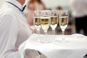 animation champagne fete de fin d'année