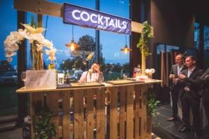Bar a cocktail pour salon profesionnel