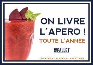 Livraison Apero Lyon Cocktail Finpallet